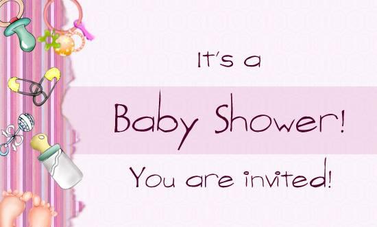 baby shower invite edit